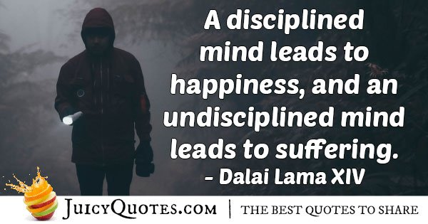 Disciplined Minds Quote