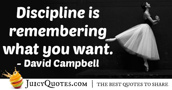Discipline in Remembering Quote