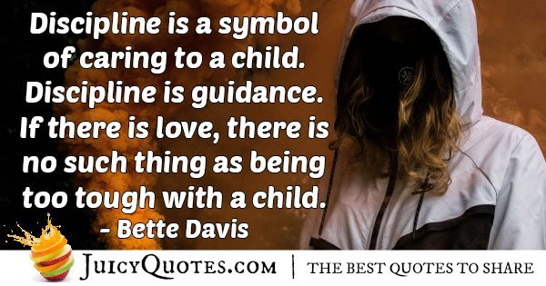 Discipline is Guidance Quote