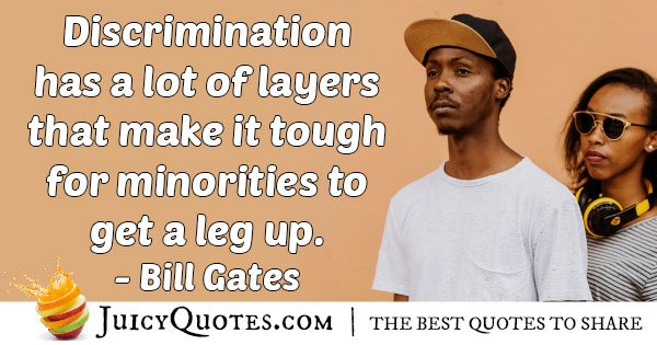Discrimination and Layers Quote