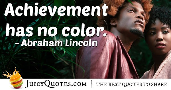 Discrimination and Achievement Quote