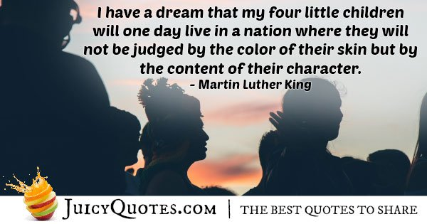Discrimination and Character Quote