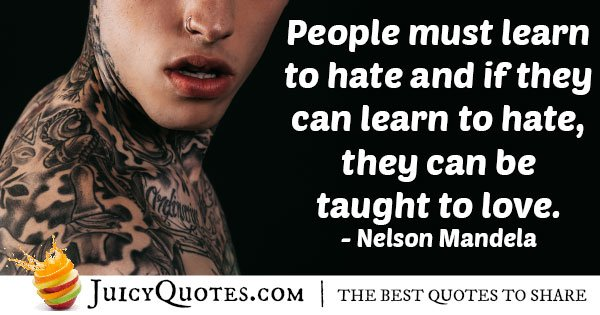 Hate and Discrimination Quote