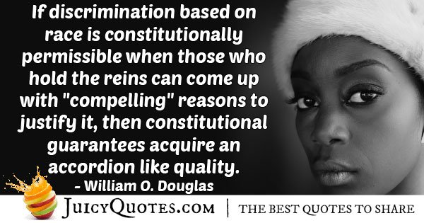 Discrimination Or Equality Quote