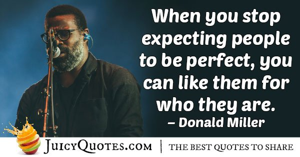 Expectation of People Quote