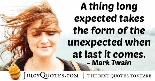 Long Expected Quote