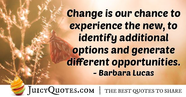 Change and Experience Quote