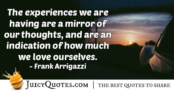 Experience and Our Thoughts Quote