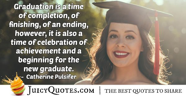 Graduation Achievements Quote