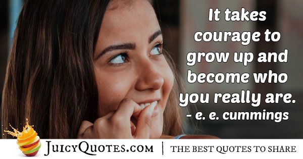 Graduation and Grow Up Quote