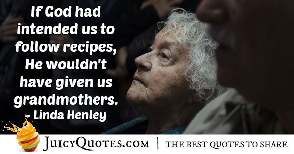 God Giving Grandparents Quote