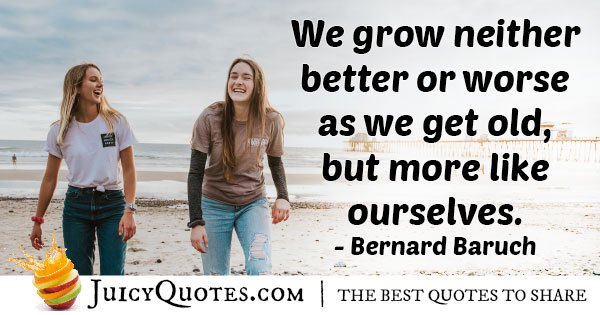 Growing Up Ourselves Quote