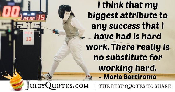 Success and Harding Work Quote