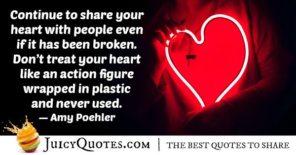 Use Your Heart Quote