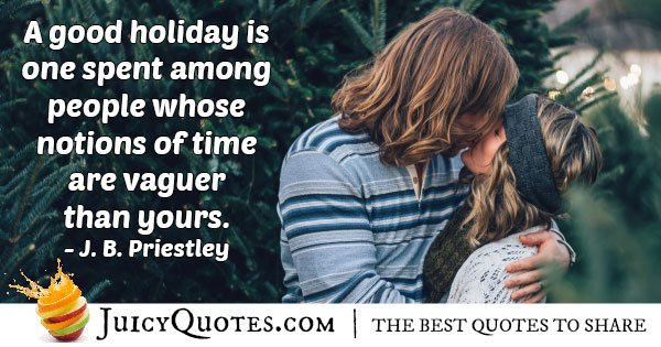 Good Holiday Quote