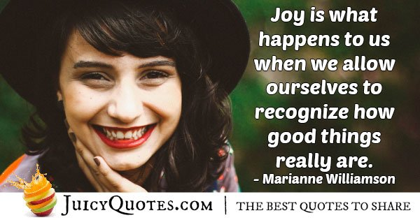 Holiday Joy Quote