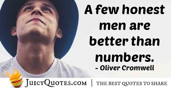 Few Honest Men Quote