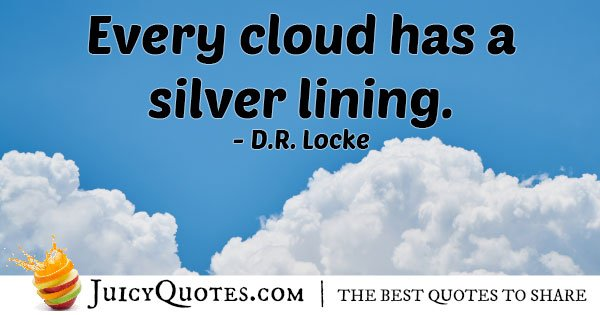 Hope and Silver Lining Quote