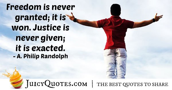 Human Rights and Justice Quote