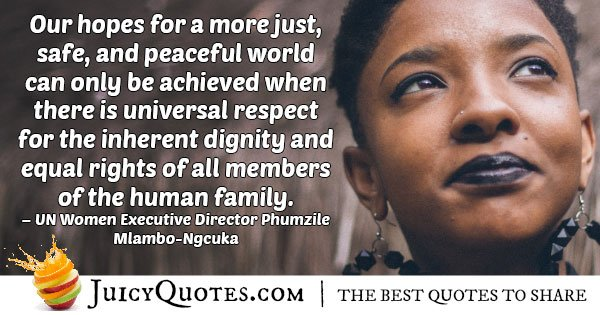 Equal Human Rights Quote
