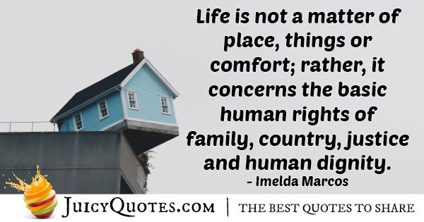 Human Rights of Family Quote
