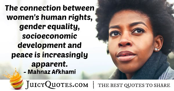 Human Rights Increasing Quote