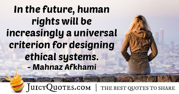 Ethical Human Rights Quote