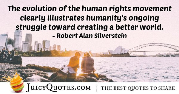 Human Rights Movement Quote