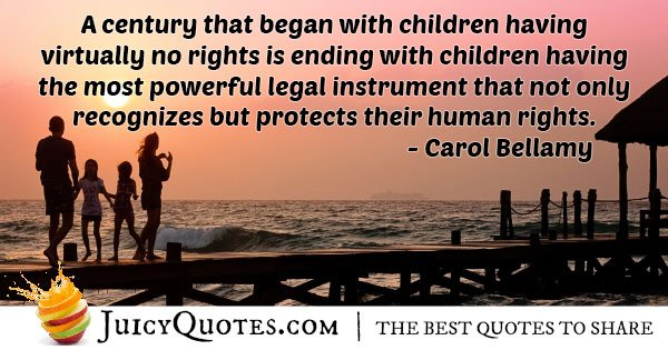 Children Human Rights Quote