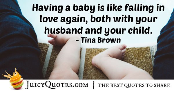 Love Husband and Child Quote