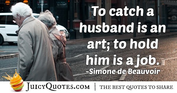 Catch a Husband Quote