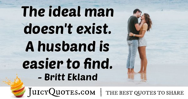 Husband Easier To Find Quote