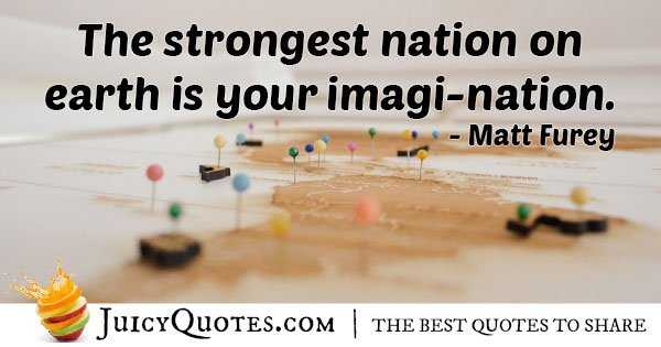 Strongest Imagination Quote