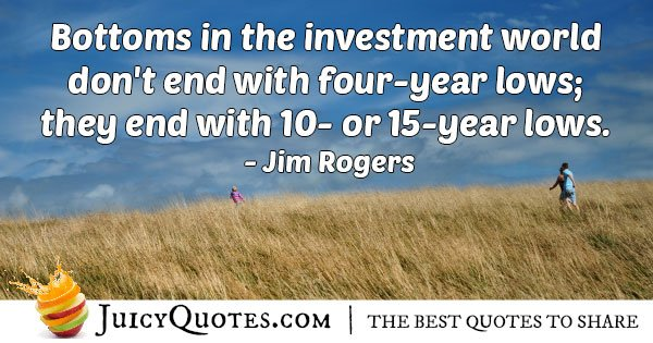 Bottom Investment Quote