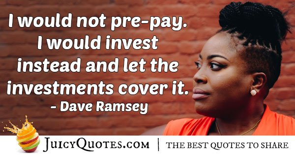 Investments Cover It Quote