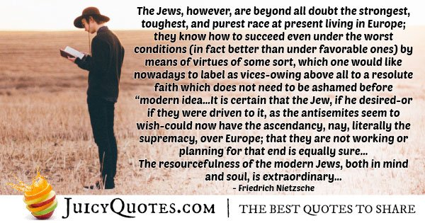 Strongest Judaism Quote