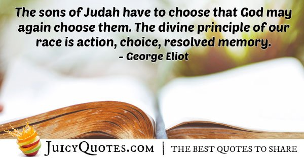 The Divine Judaism Principal Quote