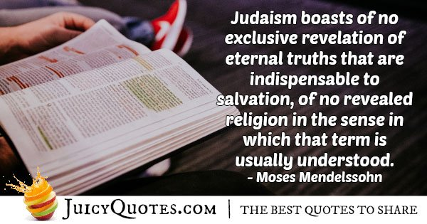 Judaism and Eternal Truths Quote