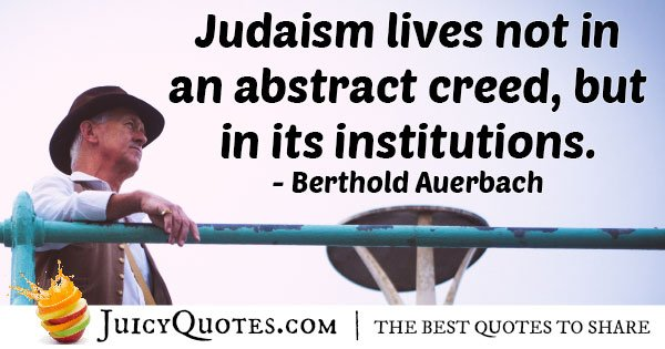 Judaism Institutions Quote