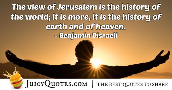 View of Judaism Quote