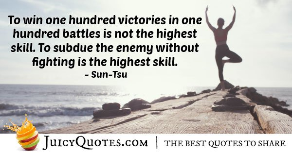 Karate skills to Subdue Quote