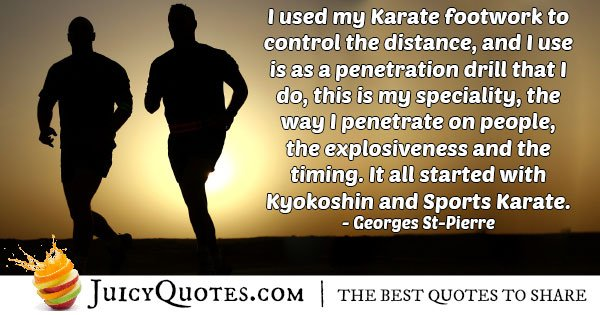 Karate Specialty Quote