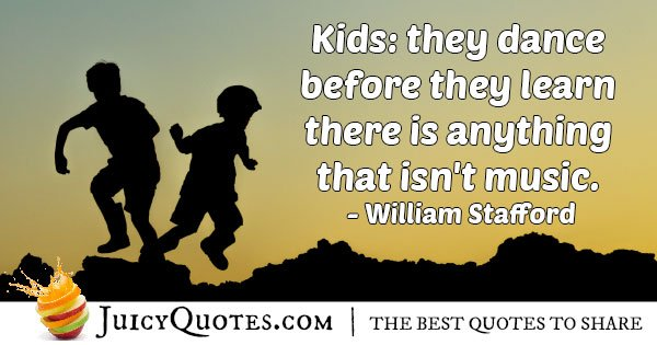Kids are Someone Today Quote