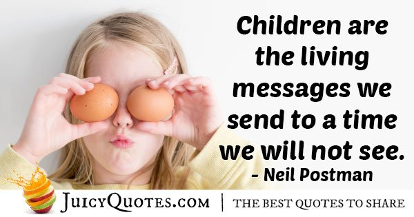 Kids with Messages Quote
