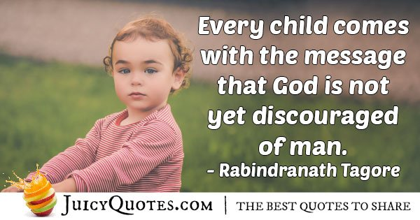 Kids From God Quote