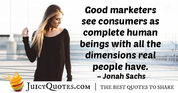 Real People Marketing Quote