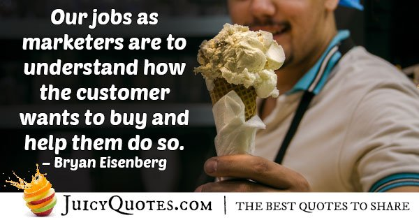 Marketing And Buying Quote