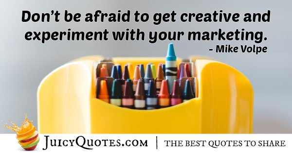 Marketing Experiment Quote
