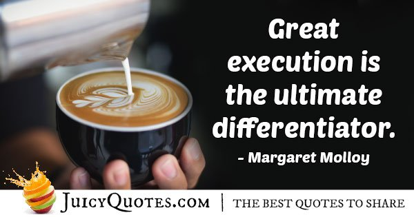 Great Marketing Execution Quote