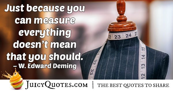 Measuring Marketing Quote